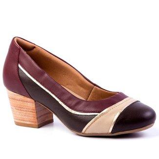 Scarpins Feminino 289 em Couro Doctor Shoes