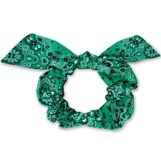 Scrunchie Lacinho Piuka lenço - Verde