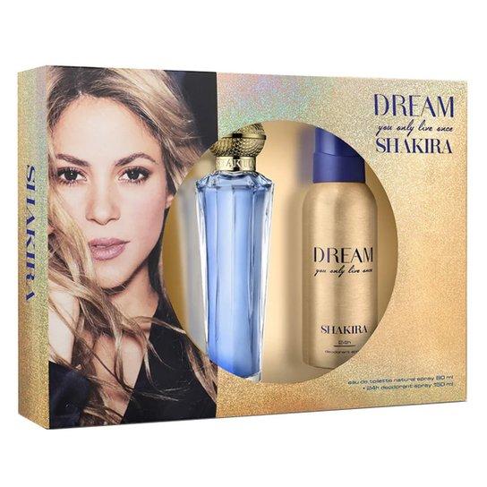 Shakira Dream Kit - Eau de Toilette 80ml + Desodorante 150ml - Incolor