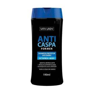 Shampoo Anticaspa For Men Octopirox + Bioex 190ml Vini Lady