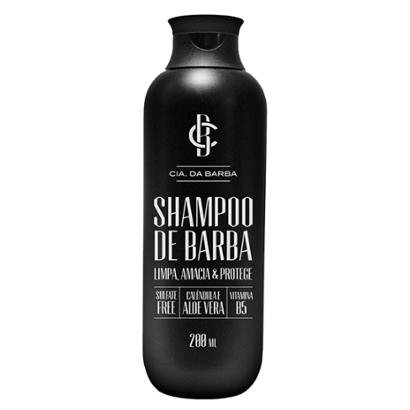 Shampoo de Barba Cia Da Barba Shampoo para Barba 200ml