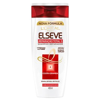 Shampoo Elseve Reparação Total 5+ L'Oréal Paris 400ml