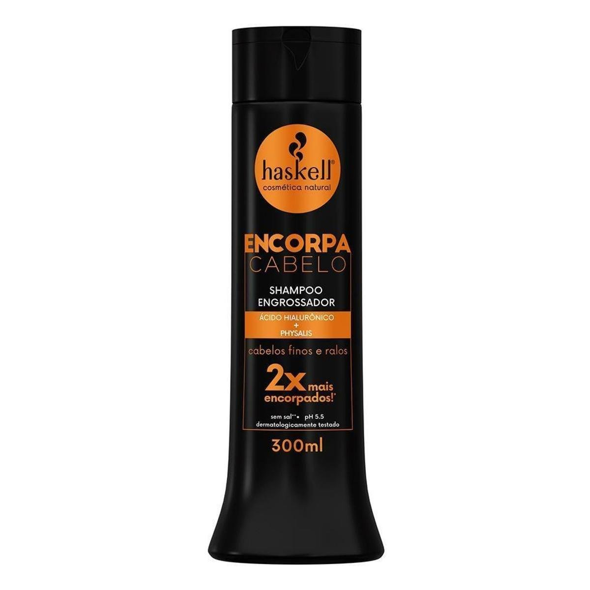Shampoo Haskell Encorpa Cabelo Engrossador 300ml - Incolor