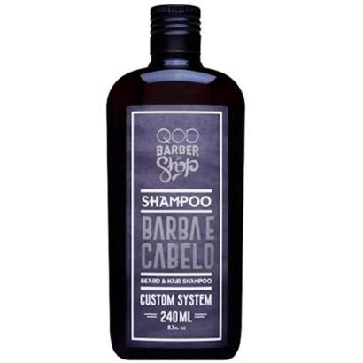 Shampoo Qod Barber Shop Para Cabelo E Barba - 240Ml