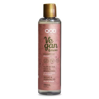 Shampoo QOD City Vegan & More 250ML
