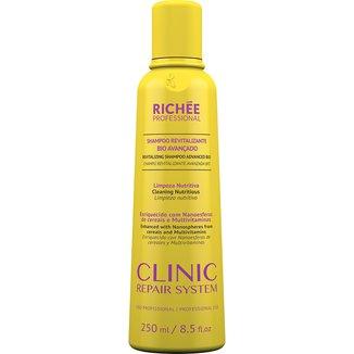 Shampoo Revitalizante Richée Clinic Repair Bio Avançado 250ml