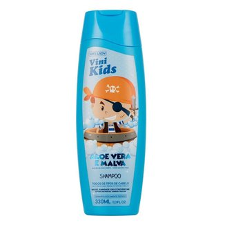 Shampoo Vini Kids Aloe Vera e Malva 330ml Vini Lady