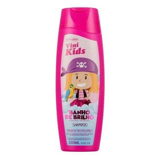 Shampoo Vini Kids Banho de Brilho 330ml Vini Lady