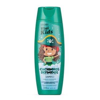 Shampoo Vini Kids Cachinhos Definidos 330ml Vini Lady