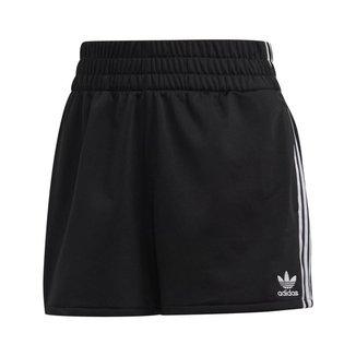 Short Adidas 3-Stripes Feminino Esportivo Conforto Casual