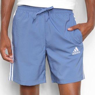 Short Adidas Casual 3 Listras Chelsea Masculino