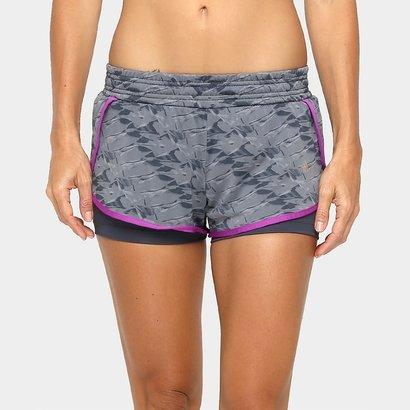 Short Adidas Duplo Gráfica WKT Feminino