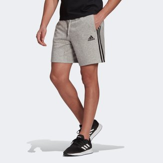 Short Adidas Essentials 3 Listras Masculino