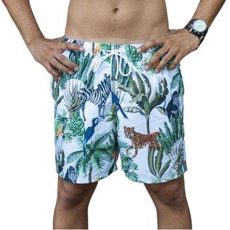 Short Bidoo Estampado Safari Masculino