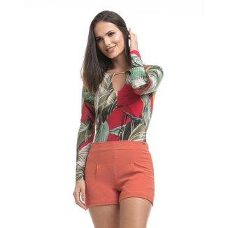 Short Clara Arruda Bolsos Feminino