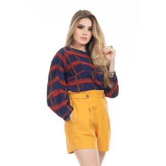 Short Clara Arruda Linho Clochard 30084