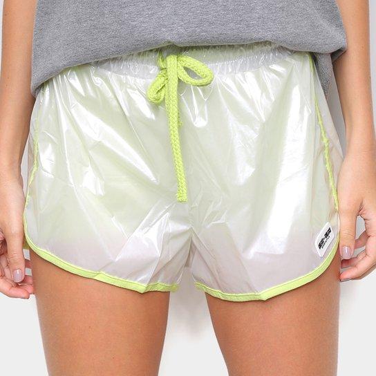 Short Colcci Nylon Feminino - Off White