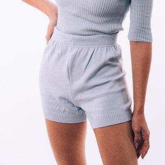 Short Feminino Casual Dia a Dia Macio Conforto Estilo Leve