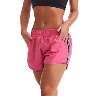 Short Fitness Run Rosa M CAJUBRASIL