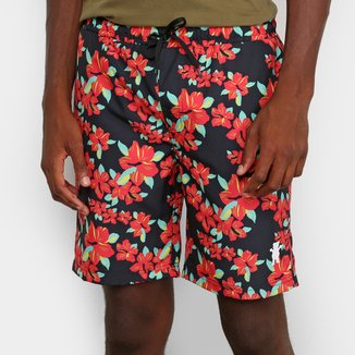 Short Grizzly Hibisco Masculino