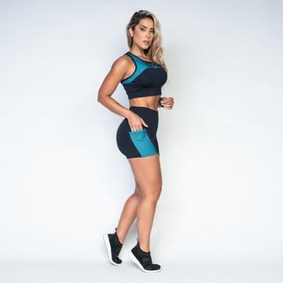 Short Honey Be Fitness Poliamida Relevo Feminino-Feminino