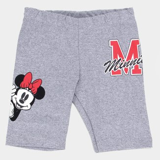Short Infantil Disney Minnie College Feminino
