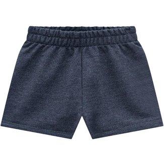 Short Infantil Feminino Kyly Moletom 110651B.6826.8 Kyly