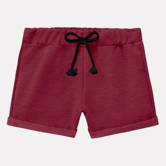 Short Infantil Feminino Milon Moletom 11858.9010.12 Milon