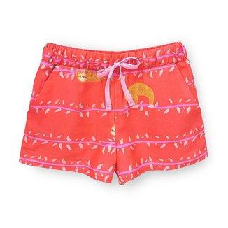 Short Infantil Pandi Preguicinha Feminino