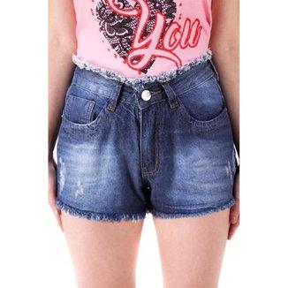 Short Jeans Básico Jimy Jeans