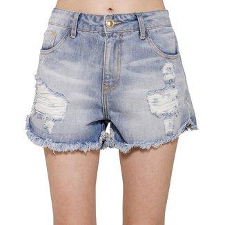 Short Jeans Destroyed Alphorria Feminino