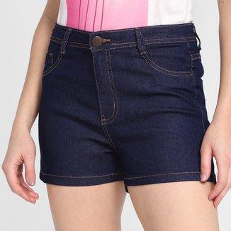 Short Jeans Ecxo Basic Feminino