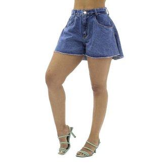 Short Jeans Godê Feminino Sal e Pimenta