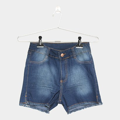 Short Jeans Infanti Grifle Básico Feminino-Feminino