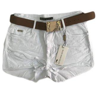 Short Jeans Miller Deluxe Empina Bumbum Com Cinto Original