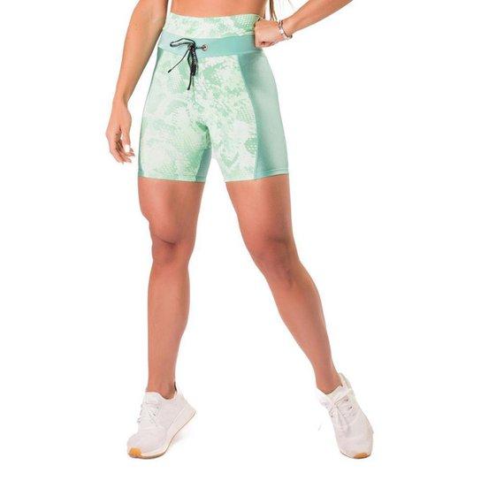 Short Let's Gym Fierce Feminino - Verde claro