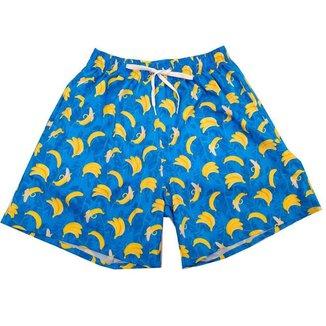 Short Moda Praia Banana Masculino