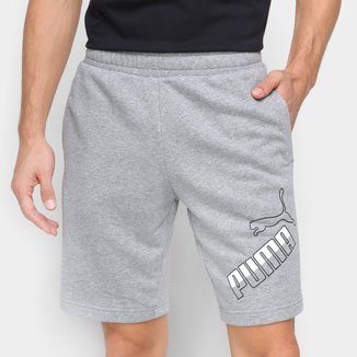 Short Moletom Puma Big Logo Masculino