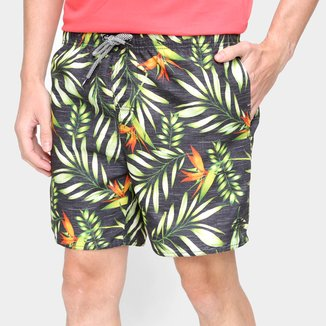 Short Mormaii Volley Leaf Masculino