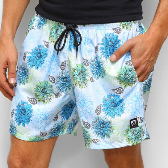 Short Mr Kitsch Floral Masculino - Colorido