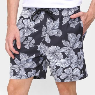 Short Natural Art Volley Hawaii Masculino