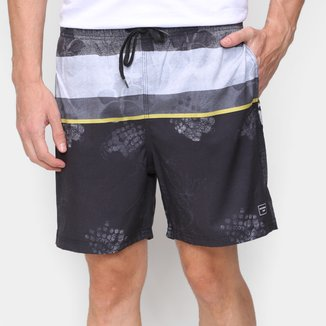 Short Natural Art Volley Ocean Masculino