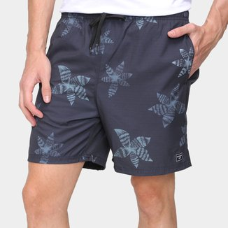 Short Natural Art Volley Star Masculino