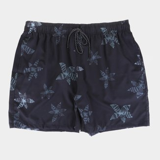 Short Natural Art Volley Star Plus Size Masculino