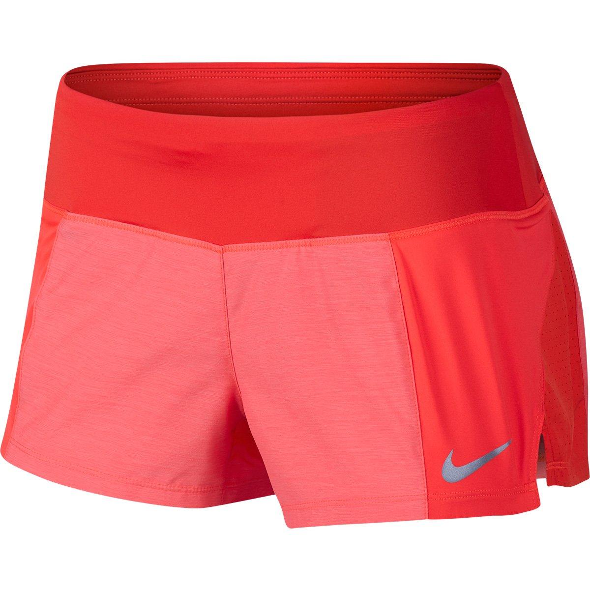 Short Nike Crew 2 Feminino Vermelho