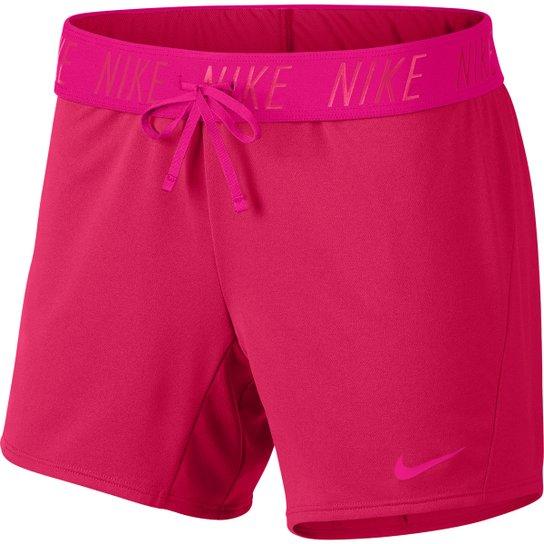 Short Nike Dry Attk Tr5 Feminino - Rosa
