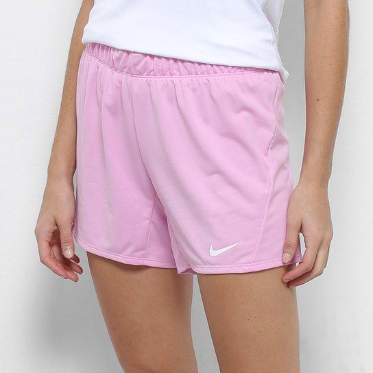 Short Nike Dry Attk Tr5 Feminino - Rosa+Cinza