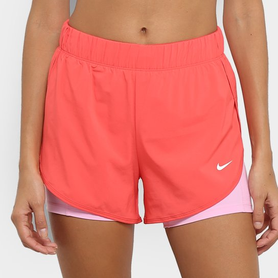 Short Nike Flex 2''1 Feminino - Rosa