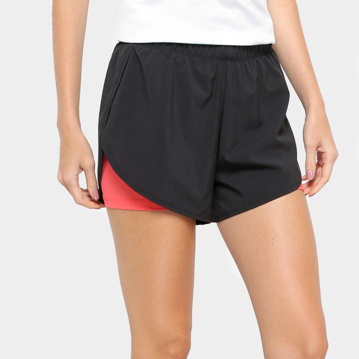Short Nike Flex 21 Feminino Preto