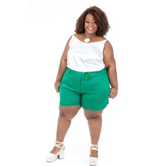 Short Plus Size Brio Poder Feminino